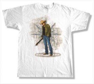 JASON ALDEAN   RIPPED JEANS 2010 TOUR WHITE T SHIRT   NEW ADULT X