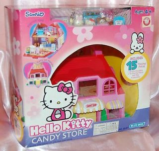 Hello Kitty Candy Store Shop Play House Figure 6.5W x 4.5D x 5.5H