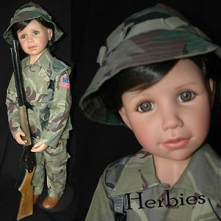 MASTERPIECE PRINCE aka Little Soldier Monika Peter Leicht, Redressed