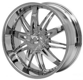 26 inch H7 Chrome wheels rims GMC Sierra Yukon Denali