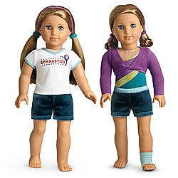 PRACTICE WARDROBE   AMERICAN GIRL DOLL CLOTHES SHIPS WITHIN ONE DAY
