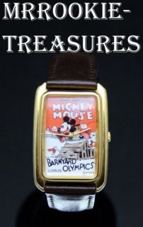 LORUS By Seiko Disney Mickey Mouse Barnyard Olympics Watch New