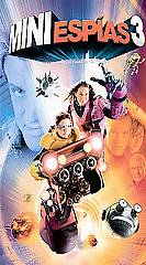 Spy Kids 3 Game Over VHS, 2004, Spanish Dubbed Edition 2 D Version