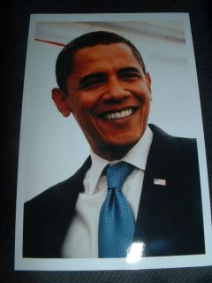NEW@BARACK OBAMA@PHOTO@2008@4 X 6@CAMPAIGN@ELECTION@PRESIDENT@FLAG