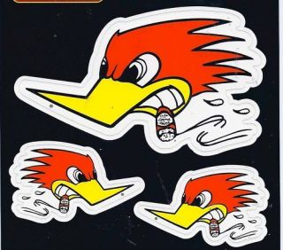 Mr Horsepower Racing Decals Sticker sheet of 3 New