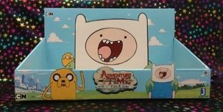 NEW RARE ADVENTURE TIME With Finn & Jake plush DISPLAY BOX toy figure