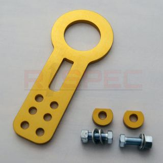HONDA ACURA JDM GOLD FRONT CNC ALUMINUM TOW HOOK KIT (Fits Legend)