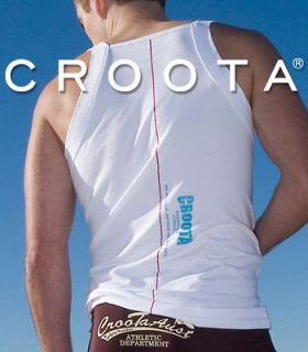 Croota Mens Tank Top (Square Cut) Undershirt, Casual Shirts  S / M