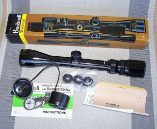 Bushnell Banner 3 9x38mm Rifle Scope ~Japan~ BDC NOS