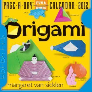 Page A Day Calendar 2012 by Margaret Van Sicklen 2011, Calendar