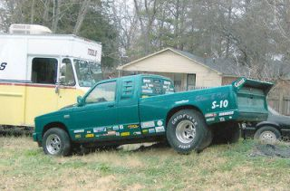 Chevrolet  S 10 No Trim 1987 Chevy S10 Drag Race Truck With Street