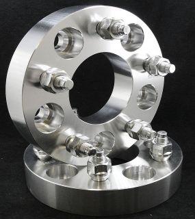 5x5.5 to 5 x 5.5   1.25 Wheel Spacers   9/16 Studs   Billet
