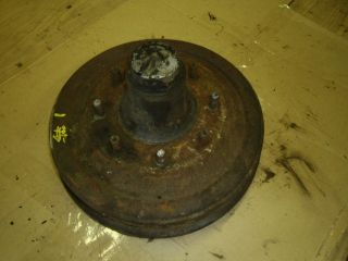 1953 CHEVY TRUCK HUB AND BRAKE DRUM 47 48 49 50 51 52 53 GMC FRONT