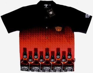 NEW Jack Daniels Bottles Club Shirt, Dragonfly