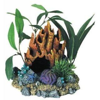Coral Floral Rock Cave 1050 ~ aquarium ornament fish tank decoration