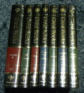 New Britannica Great Books of the Western World. 1993 Individual