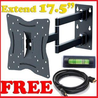 LED LCD Tilt Swivel Arm TV Wall Mount 23 24 26 27 30 32 36 37 SONY