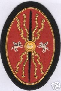 Roman Army War Legion Battle Shield Patch Centurian