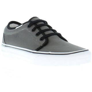 Vans Shoes Genuine 106 Vulcanized Mens Canvas Shoe Pewter Black Sizes