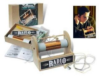 Crystal Radio Kit  Assemble, Use, Learn!