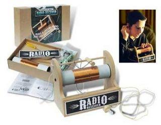 Crystal Radio Kit  Assemble, Use, Learn