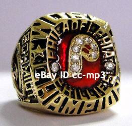 1980 MLB Philadelphia Phillies baseball World Series Championship