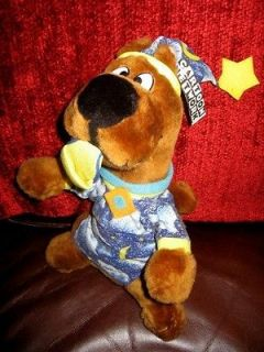12 Scooby Doo w/ Slipper & Night Shirt Plush Dog Stuffed Animal