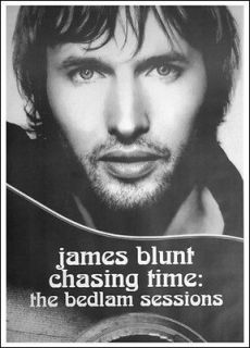 James Blunt Chasing Time Bedlam Sessions 26x36 Poster