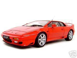 LOTUS ESPRIT V8 RED DIECAST MODEL CAR 118 BY AUTOART 75311