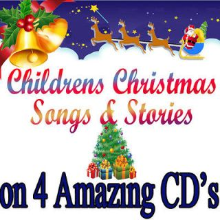 CD SET CHRISTMAS CHILDREN FAVOURITE/ PARTY SONGS & STORIES CHRISTMAS