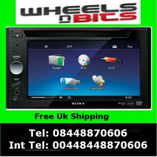 Cheap Double Din DVD player stereo usb aux ipod iphone 6.1 Screen