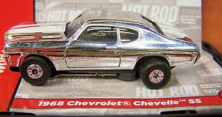 Hot Rod 1968 Chevy Chevelle SS ho slot car Ultra G Thunderjet Auto