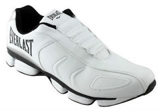 EVERLAST CENTRAL STATION MENS SHOES/RUNNERS/SNEAKERS WHITE/BLACK/SILV