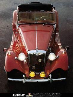 1953 1983 MG TD MGTD Duchess Replica Kit Car Photo