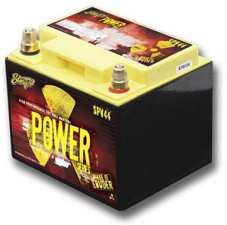STINGER SPV44 DEEP CYCLE CAR STEREO BATTERY DRY CELL