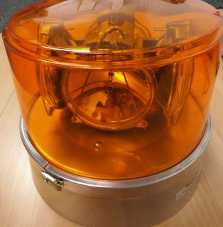 Federal Mogul Signal Stat 340A Amber 4 Way Revolving Light Assembly