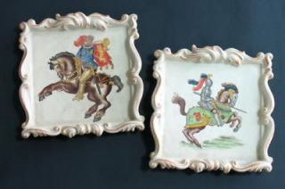 GERMAN SCHAU BACH KUNST LIMITED EDITION PAIR PLATES *