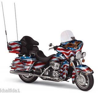 Franklin Mint Harley Davidson Electra Glide Diecast Motorcycle 110