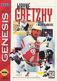 Wayne Gretzky and the NHLPA All Stars Sega Genesis, 1995