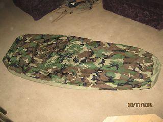 Genuine USGI Military Goretex Bivy Sack Woodland Camo