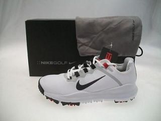 NIKE TW13 TIGER WOODS GOLF SHOES WHITE SIZE 11 MEDIUM LIMITED RELEASE