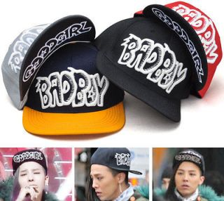 New Bad Boy Good Girl Hat Cap Snap Back Flat Brim Adjustable BigBang