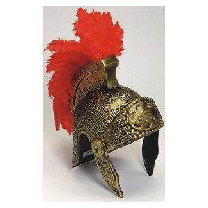 Newly listed ROMAN WARRIOR FIGHTING SOLDIER COSTUME HELMET FEATHER