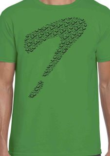 The Riddler   Batman Bats T Shirt   Sheldon Cooper Big Bang Tee   100%