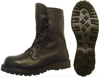 NEW Black Bates Gore Tex Insulated Cold Weather Combat Boots, 8 W Wide