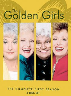 The Golden Girls   The Complete First Season DVD, 2004, 3 Disc Set