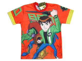 BEN 10 Alien Force Ultimate Boys Kids T SHIRT Top New Age 7 8