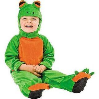 Cute Baby Toddler Tree Frog EZ Romper Kids Childrens Halloween