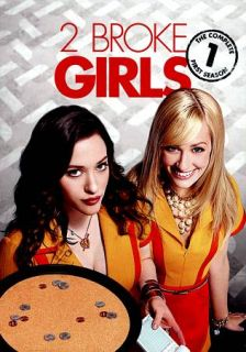 Broke Girls The Complete First Season DVD, 2012, 3 Disc Set