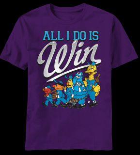 Street Big Bird Cookie Monster Bert Ernie Elmo Grover Win T shirt top